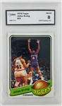 Julius Erving Philadelphia 76ers 1979 Topps Basketball Card - Graded NM-MT 8 (GMA)
