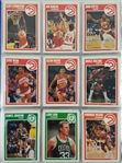 1989-90 Fleer Basketball Card Complete Set - Inc. Stickers - Near Mint