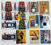 Lot of (14) Relic Basketball Cards - Inc. Dwight Howard and Pau Gasol