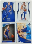 Lot of (4) Luka Doncic Dallas Mavericks Rookie Basketball Cards - Inc. Panini Theards