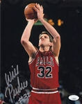 Will Perdue Signed Chicago Bulls 8x10 Photo (JSA COA)