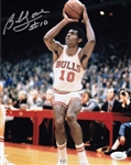Bob Love Signed Chicago Bulls 8x10 Photo (JSA COA)