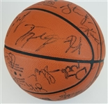 2002 NBA All Stars (Michael Jordan, Kobe Bryant & 20 Others) Signed Official NBA Game Basketball (PSA LOA)