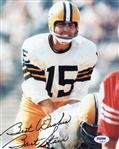 "Bart Starr ""Best Wishes"" Signed Green Bay Packers 8x10 Photo (PSA/DNA LOA)"