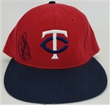 Kirby Puckett Signed Minnesota Twins Cooperstown Collection Baseball Hat (JSA LOA)