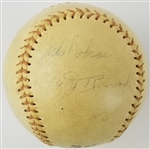 Jackie Robinson, Bill McKechnie, Bob Feller, Edd Roush + More Hall of Famers & Stars Signed Cooperstown, NY Baseball w/ 11 Total Sigs (JSA LOA)