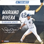 "Mariano Rivera ""HOF 2019"" Signed *HUGE* New York Yankees 10 Ft x 10 Ft Exclusive Athlete Banner - PSA Graded 10 Autograph! (Tristar & PSA/DNA Certified)"