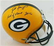 "Brett Favre ""Hall of Fame 2016"" Signed Full Size Replica Green Bay Packers Helmet (Radtke Sports COA)"
