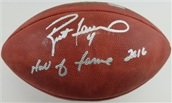 "Brett Favre ""Hall of Fame 2016"" Signed Official Wilson NFL ""The Duke"" Goodell Football (Radtke Sports COA)"