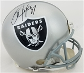 Bo Jackson Signed Full Size Authentic Proline Oakland Raiders Helmet (Radtke Sports COA)