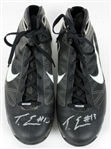 Tyreke Evans Signed Game Used Nike Hyperize Flywire Basketball Shoes (Beckett COA)