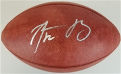 "Aaron Rodgers Signed Official Wilson NFL ""The Duke"" Goodell Football (Fanatics Certified)"