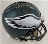 "Carson Wentz ""AO1"" Signed Full Size Authentic Proline Philadelphia Eagles Helmet (Fanatics Certified)"