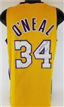 Shaquille ONeal Signed Los Angeles Lakers Nike Basketball Jersey (JSA COA)