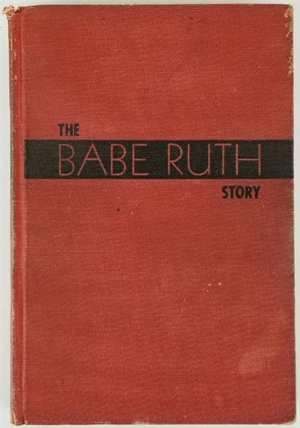 The Babe Ruth Story - 1948 Unsigned Hardcover Book