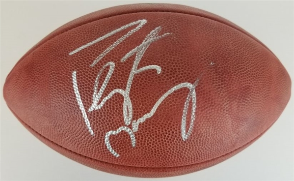 "Peyton Manning Signed Official Wilson NFL ""The Duke"" Game Football (Fanatics Certified)"