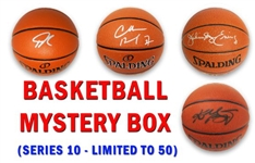 Basketball Superstar Mystery Box Signed Full Size Basketball - Series 10 (Limited to 50)