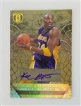 Kobe Bryant Los Angeles Lakers 2011 Gold Standard Lmt Ed Autograph Basketball Card - #69 of 75!