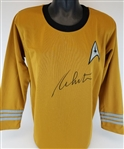 William Shatner Signed Star Trek Captain Kirk Uniform Shirt (JSA Witness COA)
