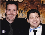 Kevin Dillon & Jerry Ferrara Dual Signed Entourage 8x10 Photo (Lojo Sports COA)