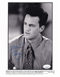 Matthew Perry Signed Fools Rush In 8x10 B&W Photo (JSA COA)
