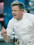 Gordon Ramsay Signed Masterchef 8.5x11 Photo (Beckett COA)