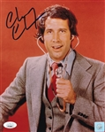 Chevy Chase Signed Saturday Night Live 8x10 Photo (JSA COA)