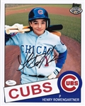 Thomas Ian Nicholas Signed The Rookie Henry Rowengartner Chicago Cubs 8x10 Photo (JSA COA)