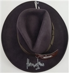 Harrison Ford Signed Indiana Jones Officially Licensed Brown Wool Fedora Hat (Radtke Sports COA)