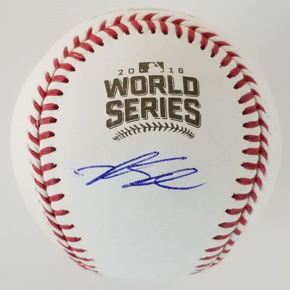 Kyle Schwarber Signed Official 2016 World Series Baseball (JSA COA)