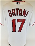 Shohei Ohtani Signed Los Angeles Angels Authentic Majestic Cool Base MLB Jersey (Steiner & MLB Certified)