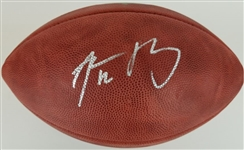 "Aaron Rodgers Signed Official Wilson NFL ""The Duke"" Roger Goodell Game Football (Fanatics Certified)"