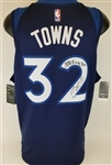 "Karl-Anthony Towns ""NBA Rising Star"" Signed Nike Swingman Minnesota Timberwolves Jersey (JSA COA)"