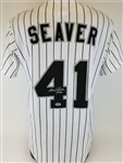 "Tom Seaver ""#300"" Signed Chicago White Sox Majestic Jersey (PSA/DNA COA)"
