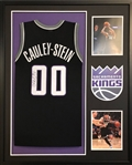 Willie Cauley-Stein Signed Sacramento Kings Custom Jersey Framed Display (JSA Witness COA)