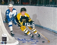"Bobby Orr ""HOF 79"" Signed Boston Bruins 8x10 Photo (JSA COA)"