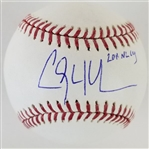 "Clayton Kershaw ""2011 NL Cy"" Signed OML Baseball (Tristar Certified)"