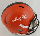 Nick Chubb Signed Full Size Replica Cleveland Browns Helmet (JSA Witness COA)
