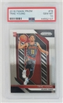 Trae Young Atlanta Hawks 2018 Prizm Rookie Basketball Card - Graded Gem Mint 10! (PSA)
