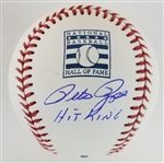 "Pete Rose ""Hit King"" Signed Hall of Fame OML Baseball (JSA Witness COA)"
