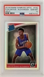 Shai Gilgeous-Alexander 2018 Optic Holo Rookie Basketbal Card - Graded Gem Mint 10! (PSA)