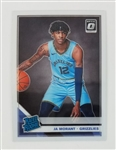 Ja Morant Memphis Grizzlies 2019 Optic Rookie Basketball Card #168