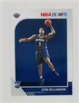 Zion Williamson New Orleans Pelicans 2019 Hoops Rookie Basketball Card #258