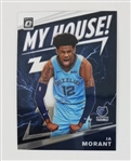 Ja Morant Memphis Grizzlies 2019 Optic My House Rookie Basketball Card #7