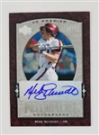 Mike Schmidt Philadelphia Phillies 2007 UD Premier Preeminence Lmt. Ed Autograph Baseball Card #PRE-MS - #8 of 50