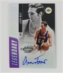 Jerry West Los Angeles Lakers 2018 Contenders Optic Legendary Contenders Lmt. Ed Autograph Basketball Card