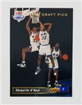 Shaquille ONeal Orlando Magic 1992 Upper Deck Short Print Rookie Basketball Card #1