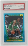 Joe Johnson Boston Celtics 2001 Topps Chrome Rookie Basketball Card #138 - Graded Gem Mint 10! (PSA)