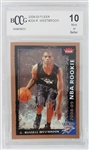 Russell Westbrook Oklahoma City Thunder 2008 Fleer Rookie Basketball Card #204 - Graded Mint or Better 10! (BCCG)