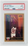 Michael Jordan Chicago Bulls 1990 Skybox Basketball Card #41 - Graded Mint 9 (PSA)